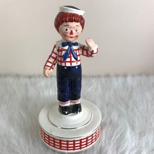 Vintage 1971 Bobbs Merrill Co Raggedy Andy Music
